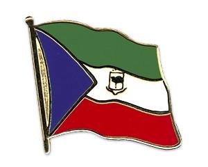 Flaggen-Pins Äquatorialguinea (geschwungen)