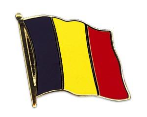 Flaggen-Pins Belgien (geschwungen)