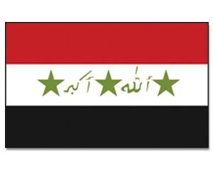 Flagge Irak 90 x 150