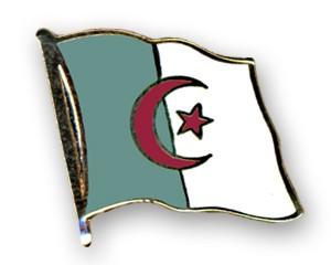 Flaggen-Pins Algerien (geschwungen)