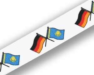 Schlüsselbänder: Deutschland-Kasachstan