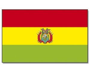 Flagge Bolivien 90 x 150