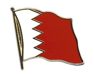 Flaggen-Pins Bahrain (geschwungen)