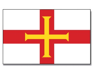 Flagge Guernsey 90 x 150