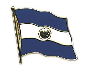 Flaggen-Pins El Salvador (geschwungen)