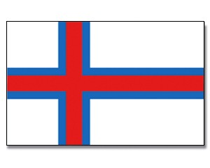 Flagge Färöer 90 x 150