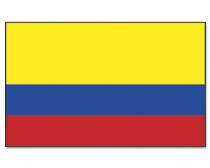Flagge Kolumbien 90 x 150
