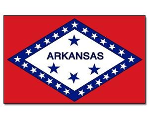 Flagge Arkansas 90 x 150