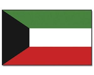 Flagge Kuwait 90 x 150