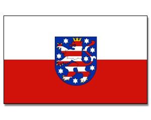 Flagge Thüringen 90 x 150