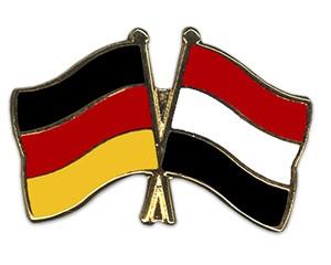 Freundschaftspins Deutschland-Jemen