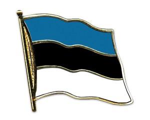Flaggen-Pins Estland (geschwungen)