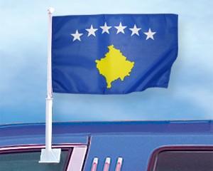 Autoflagge Kosovo 27 x 45