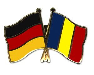 Freundschaftspins Deutschland-Tschad