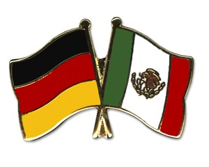 Freundschaftspins Deutschland-Mexiko