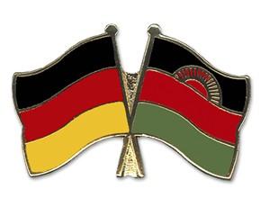 Freundschaftspins Deutschland-Malawi