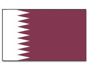 Flagge Katar 90 x 150