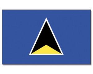 Flagge St. Lucia 90 x 150