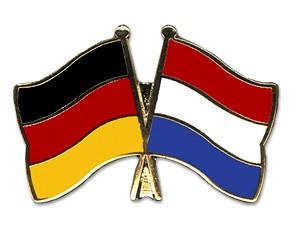 Freundschaftspins Deutschland-Niederlande