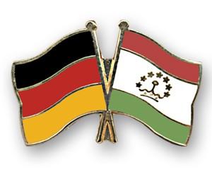 Freundschaftspins Deutschland-Tadschikistan