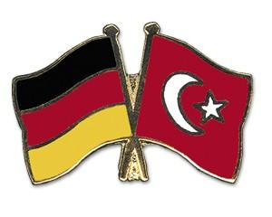 Freundschaftspins Deutschland-Türkei