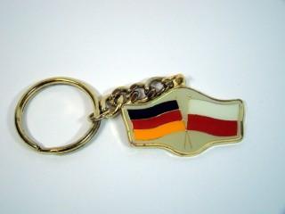 Schlüsselanhänger Deutschland-Polen