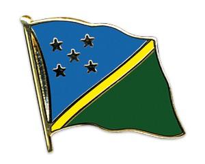 Flaggen-Pins Salomonen (geschwungen)