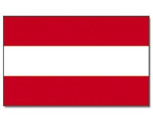 Flagge Österreich 90 x 150