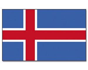 Flagge Island 90 x 150
