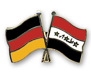 Freundschaftspins Deutschland-Irak