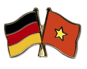 Freundschaftspins Deutschland-Vietnam