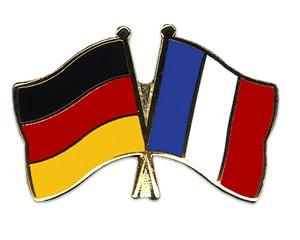 Freundschaftspins Deutschland-Frankreich