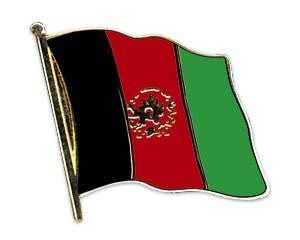Flaggen-Pins Afghanistan (geschwungen)