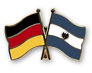 Freundschaftspins Deutschland-El Salvador