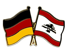Freundschaftspins Deutschland-Libanon