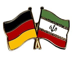 Freundschaftspins Deutschland-Iran