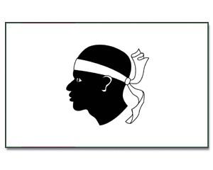 Flagge Korsika 90 x 150