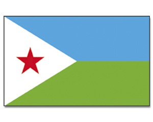 Flagge Dschibuti 90 x 150