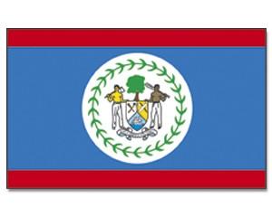 Flagge Belize 90 x 150
