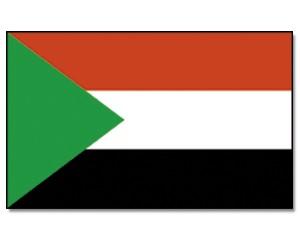 Flagge Sudan 90 x 150