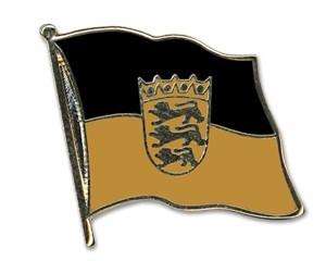 Flaggen-Pins Baden-Württemberg (geschwungen)