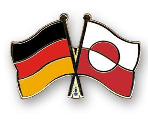 Freundschaftspins Deutschland-Grönland