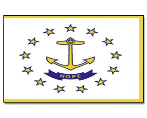 Flagge Rhode-Island 90 x 150