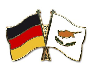 Freundschaftspins Deutschland-Zypern