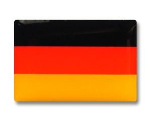 Flaggen Pins Deutschland (rechteckig)