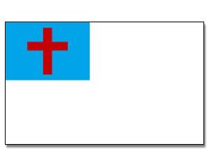 Flagge Christenflagge 90 x 150