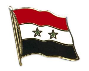Flaggen-Pins Syrien (geschwungen)