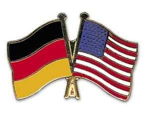 Freundschaftspins Deutschland-USA