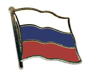 Flaggen-Pins Russland (geschwungen)