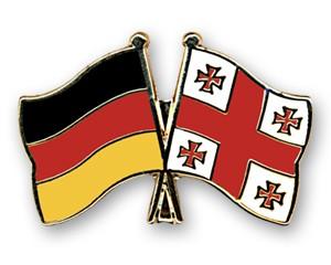 Freundschaftspins Deutschland-Georgien